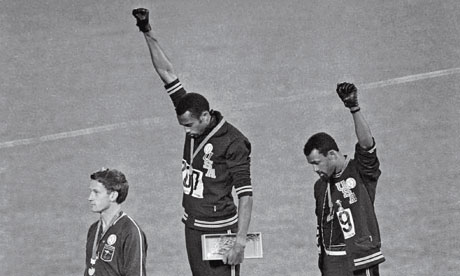 OLYMPICS BLACK POWER SALUTE